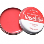 VASELINE Lip Therapy ROSY LIPS with Rose and Almond Oil วาสลีนตลับเหล็ก