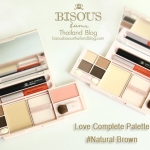 *พร้อมส่ง*Bisous Bisous Love Complette makeup palette #Natural Brown