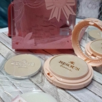 *พร้อมส่ง*bisous bisous love blossom brightening foundation powder [Set] [ระบุเบอร์]