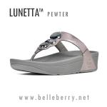**พร้อมส่ง** FitFlop Lunetta Pewter Size US 5 / EU 36