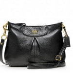 COACH MADISON LEATHER FASHION SWINGPACK # 47261 สี BLACK