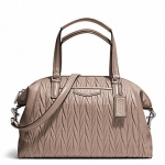 COACH GATHERED LEATHER SATCHEL # 29284 สี PUTTY