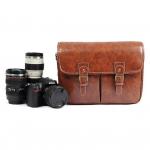 กระเป๋าหนังใส่กล้องถ่ายรูป SLR , DSLR กระเป๋าหนัง PU