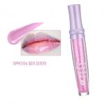 {Pre Order} ** Holika Holika Honey Bouquet Shine Gloss #SPK104 Pink Aurora [6000w] : ลิปกลอสสีสวย หวาน ด้วยส่วนผสมจากสารสกัดธรรมชาติและดอกไม้นานาพันธุ์ มีประกายกลิตเตอร์ แวววาว ให้ริมฝีปากสวยวาวใส