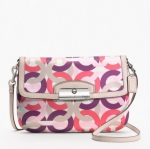 COACH KRISTIN CHAIN LINK PRINT FLAP CROSSBODY #  49005