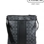 COACH HERITAGE SIGNATURE SMALL ZIP TOP CROSSBODY # 71131
