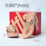 **พร้อมส่ง** รองเท้า FitFlop FLORA : Nude : Size US 8 / EU 39