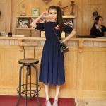 Chiffon Maxi Dres |   เดรสยาวผ้าชีฟอง  แฟชั่นเกาหลี