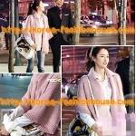 [พร้อมส่ง]กระเป๋าถือมีสายสะพายยาว สีขาว lapalette ลายม้าลาย ยี่ห้อนี้ดาราเกาหลีใช้เยอะมากค่า