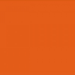 ผ้าสักหลาด สีส้ม