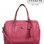 COACH PEYTON LEATHER NANCY SATCHEL # 31403