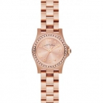 Marc By Marc Jacobs MBM3278 Amy Dinky Glitz Rose Gold Stainless Watch