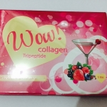 ผลิตภัณฑ์เสริมอาหาร คอลลาเจนพลัส Wow Collagen ว๊าว คอลลาเจน 15000mg. 5 ซอง ( กลิ่นฟรุตตี้พันซ์ )