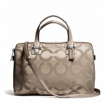 COACH TAYLOR OP ART SATEEN SATCHEL # 25503