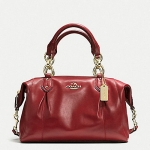 COACH COLETTE LEATHER SATCHEL # 33806