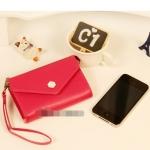 """""""พร้อมส่ง""""กระเป๋าใส่iPhone แบบกล่อง -สีแดง"""