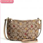 COACH Laura Secret Admirer Purse Handbag Swingpack/Crossbody Hearts # 46773