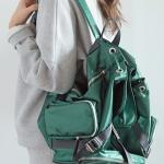 Pre Order / กระเป๋าแฟชั่น เวบ stylenanda นำเข้าจากเกาหลี SATIN WEBBING