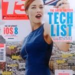 นิตยสารภาษาอังกฤษ T3 : The Gadget Magazine  ( ฉบับ August 2014)