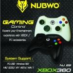 "Joystick Analog ""NUBWO"" NJ-29 ( คละสี ) XBOX360"