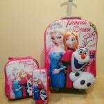 [ พร้อมส่ง ] กระเป๋าล้อลากเด็กทั้ง set จ้า ( 3 ชิ้น)