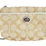 Coach Park Signature Medium Wristlet # 49175