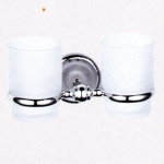 ที่ใส่แก้ว 2 ใบ พร้อมแก้ว (doubl tumbler holder) No.83184D