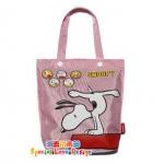 พร้อมส่ง / กระเป๋า Premium นิตยสารญี่ปุ่น  Snoopy สีชมพู