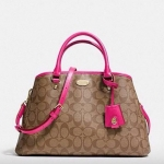 COACH SMALL MARGOT CARRYALL IN SIGNATURE CANVAS # 34608