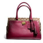 COACH LEGACY CHELSEA CARRYALL IN SIGNATURE # 25371 สี DEEP PORT