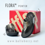 **พร้อมส่ง** รองเท้า FitFlop FLORA : Pewter : Size US 8 / EU 39