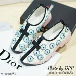 พร้อมส่ง / Dior Fusion sneakers งานAAA ชนช้อป คุณภาพดี ราคาสบายกระเป๋า งานตัวจริงสวยมาก เริ่ดสุดๆ งานเย็บมือ ทีละดอกอย่างประณีต วัสดุที่ใช้อย่างดี
