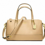 COACH SAFFIANO LEATHER MINI SATCHEL # 49392