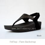 **พร้อมส่ง** FitFlop Flare Backstrap : Black : Size US 7 / EU 38