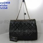 กระเป๋า Chanel Chain Around  ขนาด 7x12x9 นิ้ว  เกรดพรีเมี่ยม  สีดำ