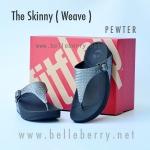 **พร้อมส่ง** FitFlop The Skinny (Weave) : Pewter : Size US 5 / EU 36