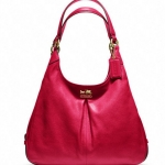 COACH MADISON LEATHER MAGGIE # 21225 สี Brass Punch