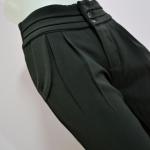 กางเกงทำงานผู้หญิงขายาว เอวสูง เรียบหรู