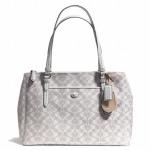 COACH Peyton Dream C Double Zip Carryall Handbag Tote # 25457