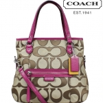 COACH DAISY OUTLINE SIGNATURE MIA # 24064