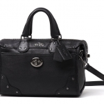 Coach Rhyder Mini Satchel in Leather # 33690 สี Black