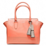 Coach legacy perforated leather medium candace carryall # 22390