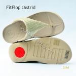**พร้อมส่ง** รองเท้า FitFlop Astrid : Gold : Size US 7 / EU 38