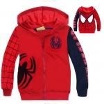 แจ็คเก็ต+เสื้อกันหนาว มีฮู้ด spiderman *01* 6 ตัว/แพค *ส่งฟรี*