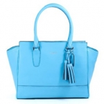 COACH LEGACY CANDACE CHAMBRAY LEATHER CARRYALL SATCHEL BAG # 24201 สี ROBIN
