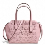 Coach Taylor Eyelet Leather Bette Mini Tote Crossbody #  28081