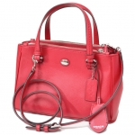 COACH PEYTON LEATHER MINI JORDAN CARRY # 32829
