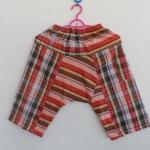 กางเกงเด็กผ้าขาวม้า ไซส XL