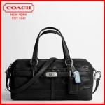 Coach new chelsea leather reese satchel # 17803 สี Black
