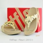 **พร้อมส่ง** fitflop Fleur : Gold : Size US 9 / EU 41